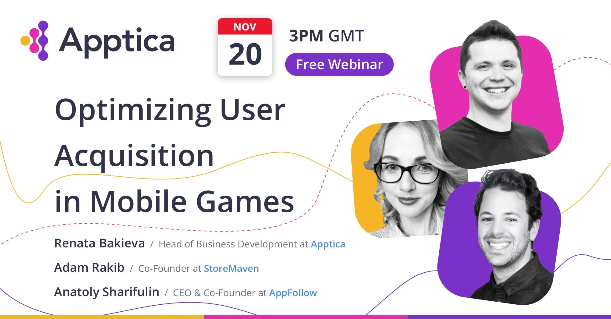 Optimizing User Acquisition in Mobile Games