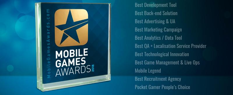 Mobile Games Awards 2018: The finalists revealed