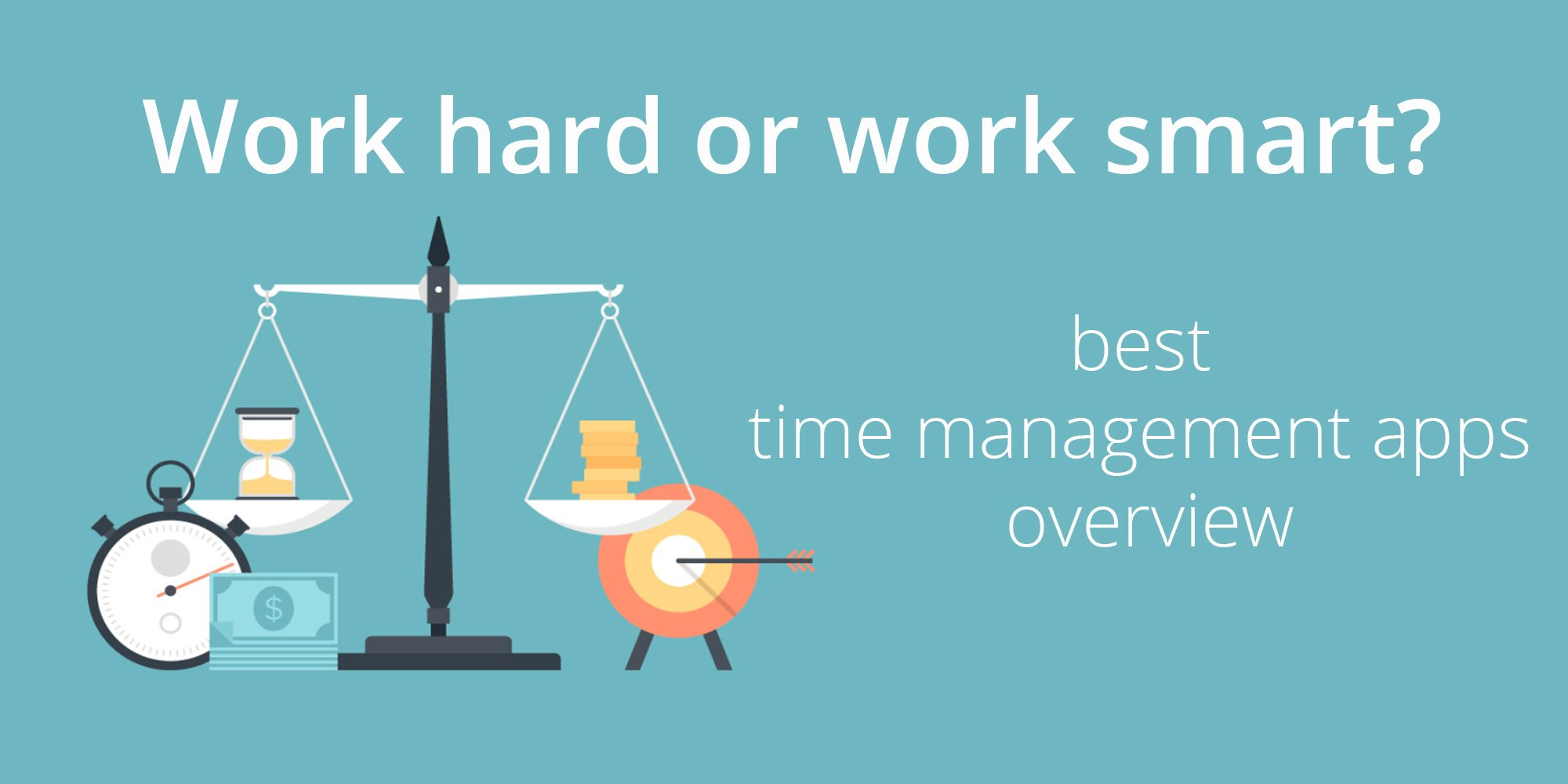 Apptica's overview of best time management tools in 2019