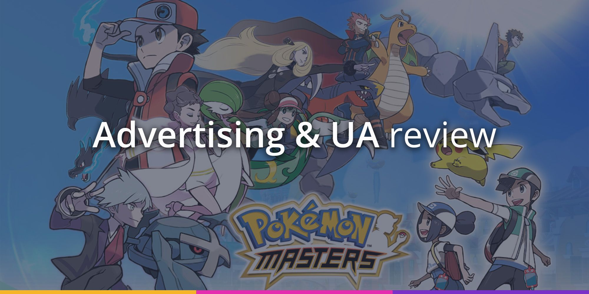 Pokémon Masters' first Ad Creatives