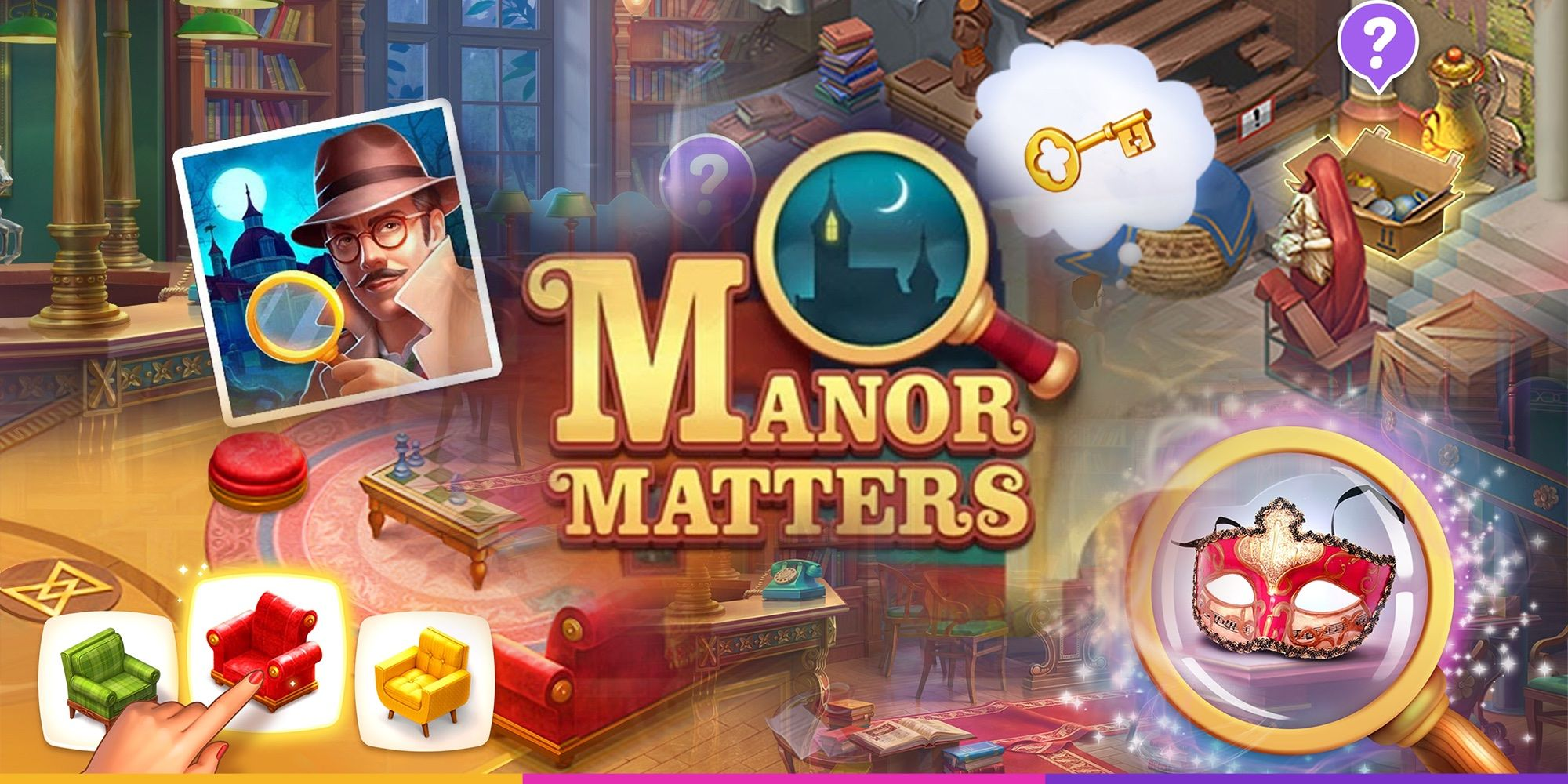 Playrix soft-launched a new mobile game Manor Matters