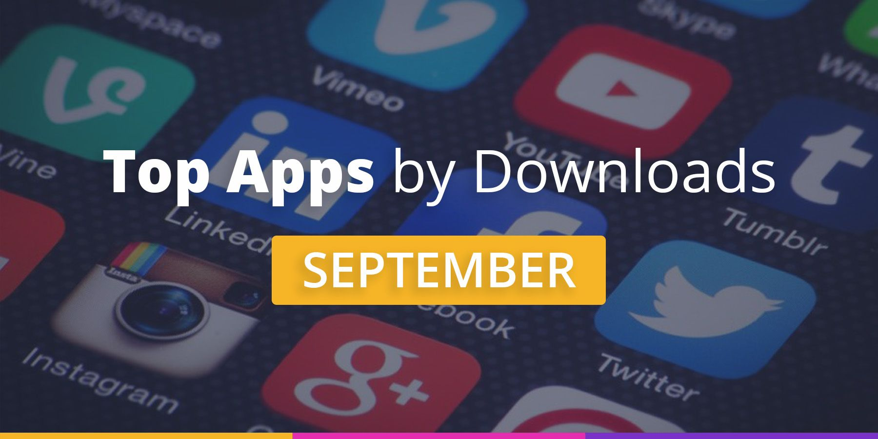 Top Applications in September 2019 [Downloads Chart]