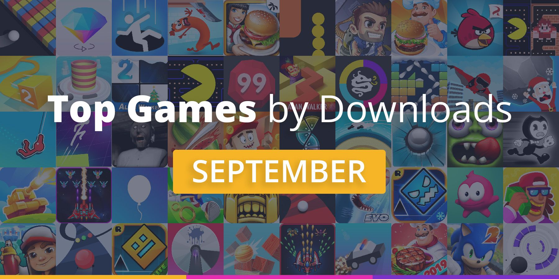 Top Mobile Games in September 2019 [Downloads Chart]