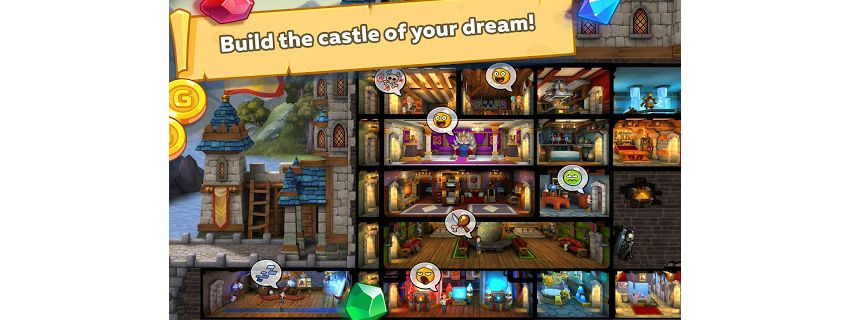 Hustle Castle: Medieval life RPG. Fantasy Kingdom Screenshot from Google Play