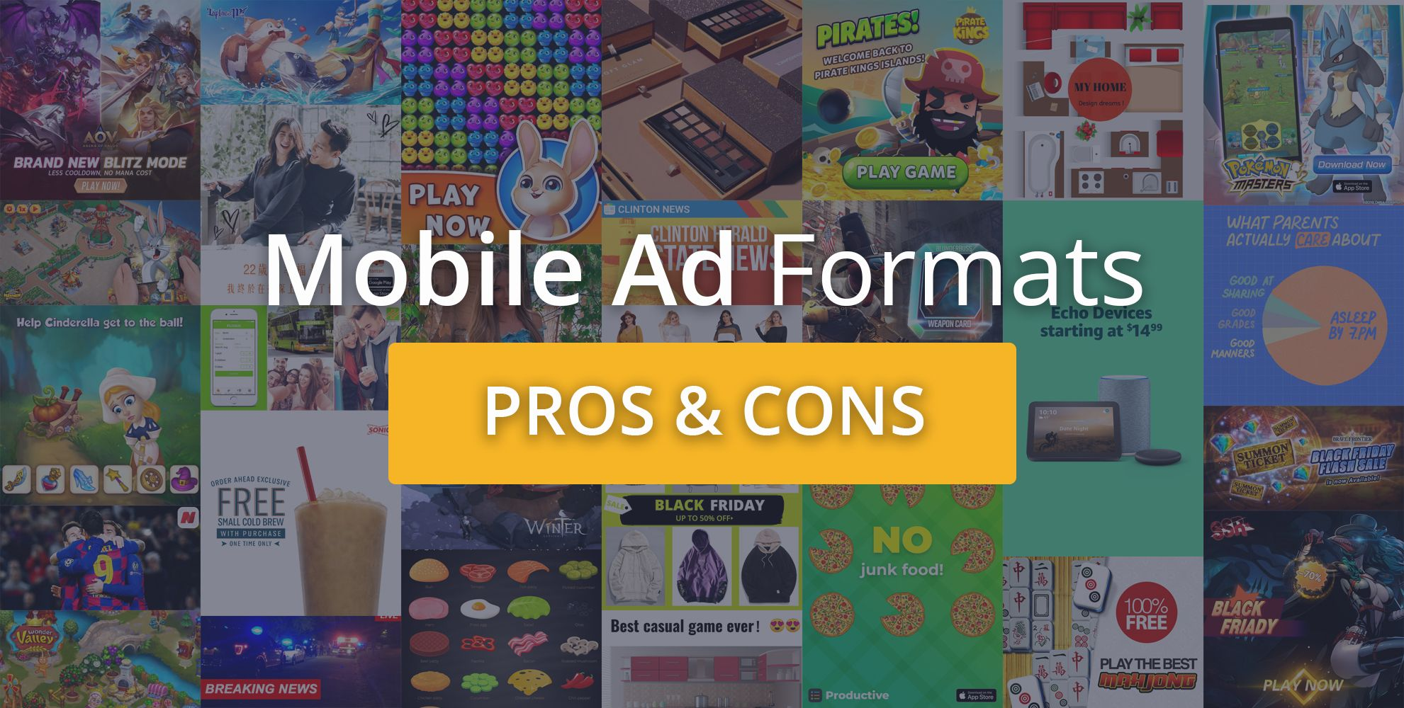 Choosing the right ad format for your mobile app