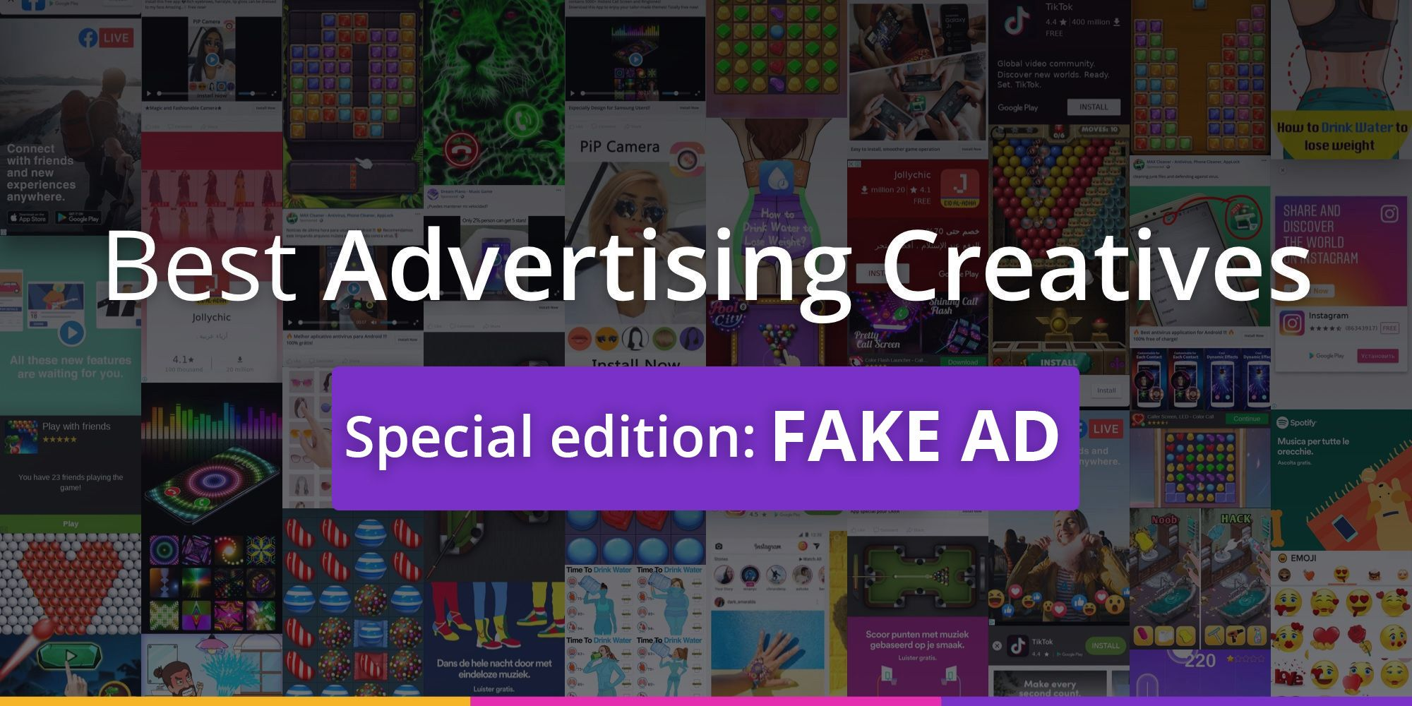 Best advertising creatives of November: Fake Ad