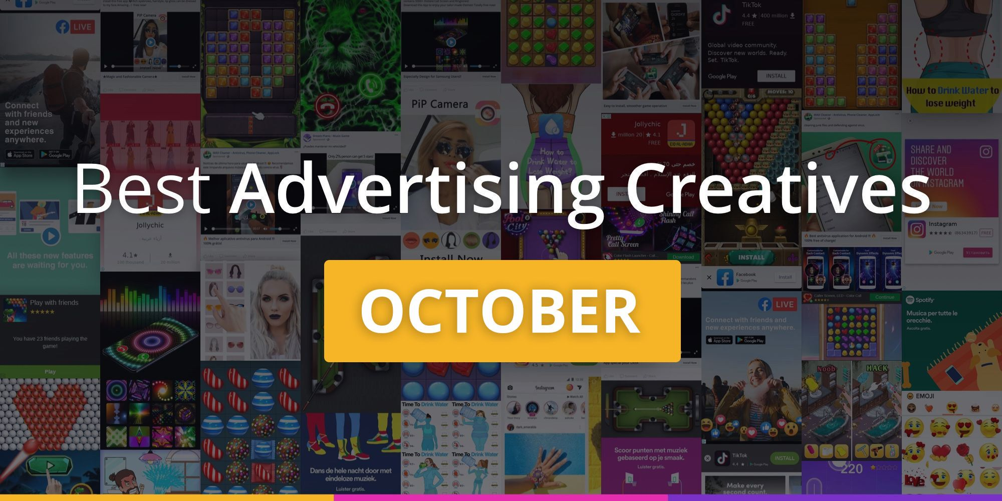 Best advertising creatives of October