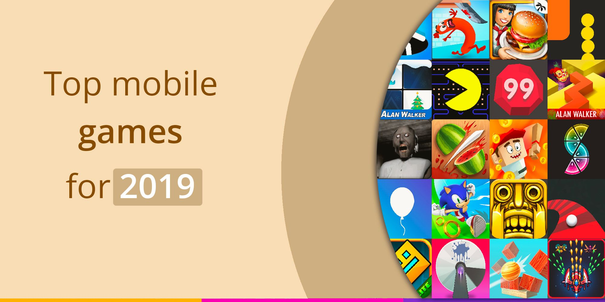 Best mobile games in 2019