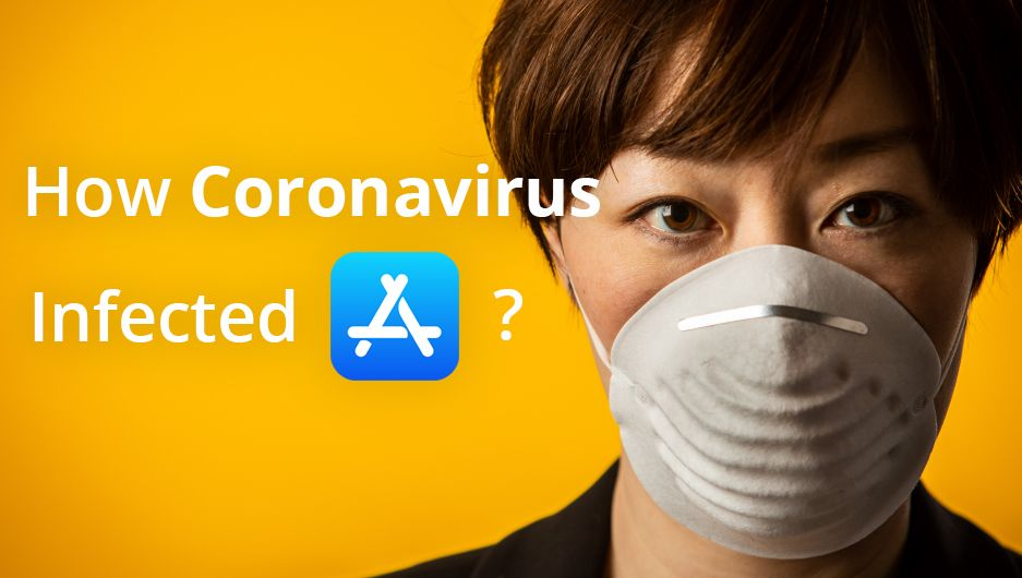 How Coronavirus infected mobile stores